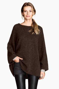 Pull ample en laine mélangée | H&M