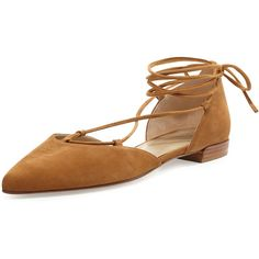 Stuart Weitzman Gilligan Lace-Up d'Orsay Flat ($398) ❤ liked on Polyvore featuring shoes, flats, black, shoes flats ballerina, d orsay flats, black flat shoes, ballerina flats, black flats and d'orsay flats