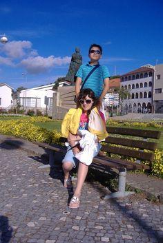 Mariana e André no Jardim fronteiro aos Paços do Concelho, Montalegre 2009