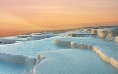 Pamukkale, Turkey most beautiful places in the world