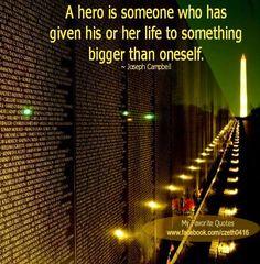 Hero quote via www.MyFaveQuotes.com