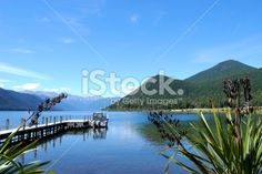 Lake Rotoroa, Nelson Lakes National Park, NZ Royalty Free Stock Photo Image Now, Nature Photos, Lakes, Waterfall, National Parks, Royalty Free Stock Photos, Landscape, Photography, Travel