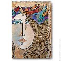 Paperblanks: Laurel Burch - Soul & Tears.