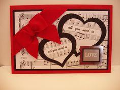 valentine card - Scrapbook.com