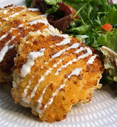 Parmesan Ranch Chicken, made with Ken's Ranch Dressing - Recipe