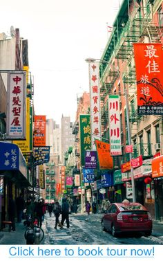NYC ~ Chinatown #nyc #tours #bus_tours