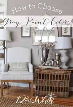 How to Choose Gray Paint Colors: Five Tips from a gal with gray in every room!