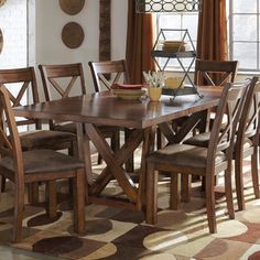 Signature Design by Ashley Waurika Dining Room Table Overstock.com 6/13/14