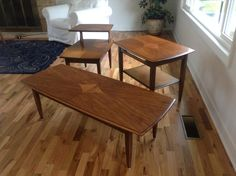 Mid-century table set
