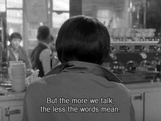 "Jean-Luc Godard's film, ""Vivre sa vie,"" 1962 The Words, Movie Captions, Citations Film, Jean Luc Godard, Movie Lines, Film Quotes, Cinema Quotes, Quote Aesthetic, Mood Quotes"