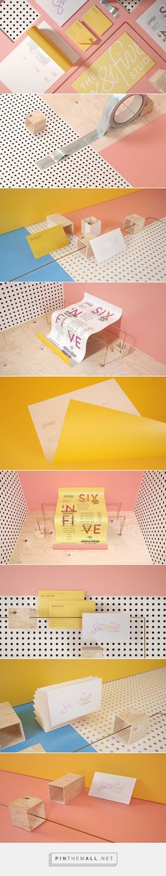 Six N. Five Art Studio Self Branding | Fivestar Branding Agency – Design and Branding Agency & Curated Inspiration Gallery: