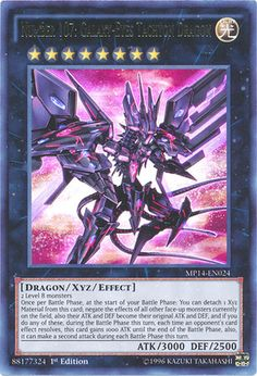 Carta da Semana #53: Number 107: Galaxy-Eyes Tachyon Dragon