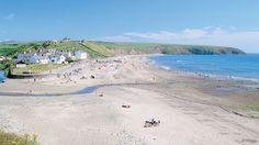 Aberdaron beach on the Llyn Peninsula, Snowdonia