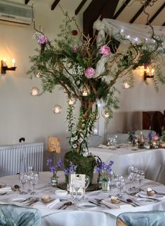 """Flower Design Events: """"Lord of the Rings"""" Inspired Wedding Day of Beth & Michael at St Warlburge's & The Great Hall at Mains"""