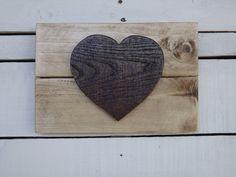 Heart Pallet Sign, Wall Decor