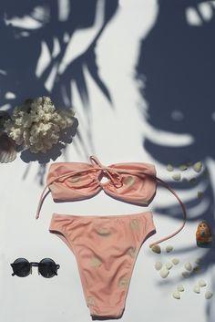 Neni's bikinis 2014 The 'Kathy' bikini. photo by Charoula Stamatiadou