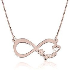 1f117f843fe05 76 Best Personalized Valentine's Necklaces images in 2017 | Name ...