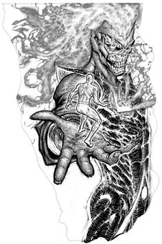 Black Lantern Firestorm by Hachiman1