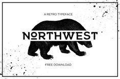 FREE FONT - NORTHWEST par Eric Tirado - 28