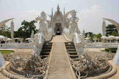 Wat Rung Khun (White Temple) in Chiang Rai, Thailand