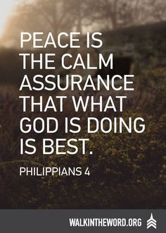 Don't be ruled by your emotions. Allow God's peace to rule your life. Read more here: