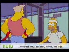 Exercise on a Wednesday night - motivated by Homer - What's A Gym: http://youtu.be/R4i8SpNgzA4    H Indran (@TechLearnUK) on Twitter