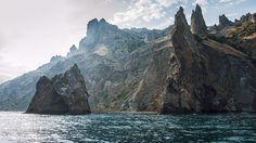 Крым - Карадаг или в переводе на русский - Чёрная гора
