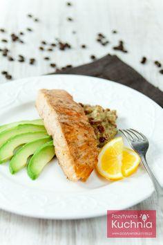 #losos z #awokado i #kawa - #przepis krok po kroku  http://pozytywnakuchnia.pl/losos-w-sosie-z-awokado-i-kawy/  #obiad #kolacja #ryba