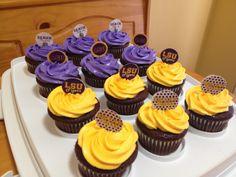 LSU cupcakes #kendrascott #teamks