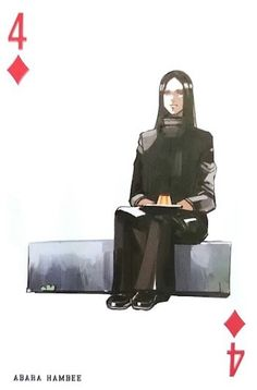 Hanbee ~ 4 of Diamonds ~ Tokyo Ghoul trump cards