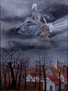Fan account of Remedios Varo, a prolific Spanish Surrealist Painter and Anarchist Winter Landscape, Landscape Art, Salvador Dali, Winter Art Projects, Winter Painting, Guache, Western Art, Surreal Art, Art Plastique