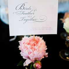 Feather Her Nest Bridal Shower | Photography: emilie inc. photography | Event Design: Gus & Ruby Letterpress