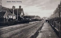 Station Road, Romsey, Hampshire.