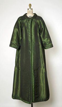 Evening Coat, fall/winter 1964–65. House of Dior. Marc Bohan.