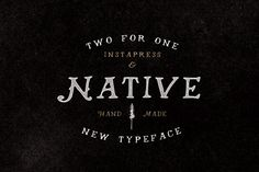 40% Off - Native + Instapress by Hustle Supply Co. on Creative Market