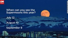 Super Moon Schedule