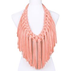 Macrame Knot Fringe Stretchy Scarf! Somebody plz teach me how to make!