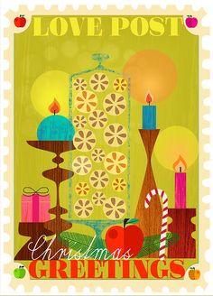 Love Post - new Christmas Cards Designs by  Elisandra, via Flickr