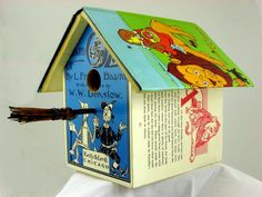 wizard of oz birdhouse