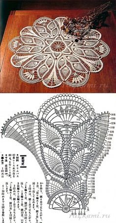 Beautiful Crochet Doily♥ Deniz Beautiful Crochet Doily♥ Deniz Learn the basics of how to needlework Crochet Tablecloth Pattern, Free Crochet Doily Patterns, Crochet Doily Diagram, Crochet Mandala, Crochet Art, Thread Crochet, Filet Crochet, Crochet Motif, Vintage Crochet
