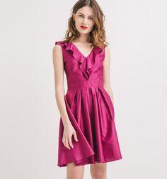 Rose Ethereal dress || Promod