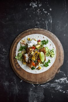 Loaded Fish Tacos With Ceviche Salsa And Roast Corn - Cook Republic