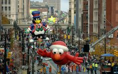 America's Thanksgiving Day Parade - a classic tradition.