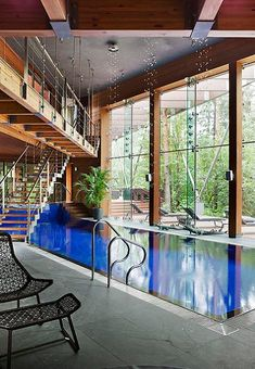 Our Favorite Garden Pool Or Indoor Pool 105 Pictures Of Swimming Pools on Interior Design Indoor Pool Houses Swimming Pool House, Luxury Swimming Pools, Luxury Pools, Swimming Pool Designs, Lap Swimming, Indoor Pools, Lap Pools, Cabana, Mercure Hotel