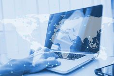 Double Exposure Using Computer Laptop Doing Business Online Network Vector Photo, Displaying Collections, Laptop Computers, Double Exposure, Higher Education, Free Photos, Doing, Online Business, Photo Editing