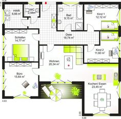 Bungalow 135 Grundriss Bungalow 135 Grundriss The post Bungalow 135 Grundriss appeared first on Bauen Diy. Bungalow Floor Plans, Craftsman House Plans, Bedroom Layouts, House Layouts, Bungalow Homes, Outdoor Living Areas, Wood Trim, Planer, Home Remodeling