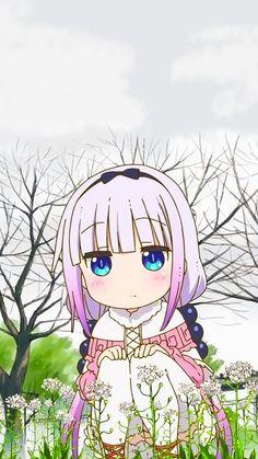 Kanna Kamui [Kobayashi-san Chi no Maid Dragon] Manga Anime, Anime Art, Chibi, Kanna Kamui, Kobayashi San Chi No Maid Dragon, Miss Kobayashi's Dragon Maid, Japanese Illustration, Cute Dragons, Anime Characters