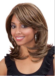 Bobbi Boss Synthetic Lace Front Wig - MLF28 Sage Bobbi Boss Lace Front Wig has been created for customers with exceptional taste in premium class products: Our lace patch is most delicately crafted wi