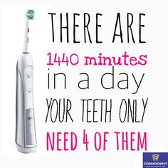 Yes, Only 4 Minutes given to #tooth_brushing will make your whole day. Apart from brushing, It is always advisable to gargle after every eat, Use mouth fresheners to stop germs to activate and have healthy Diets.  In case of any #dental_problems, Consult Cosmodent #India #online call us at 9999354118 (#Delhi), 8867208923 (#Bangalore), 8588097530 (#Gurugram) or write your health problems at info@cosmodentindia.com #brushing #dental_care #dental_clinic #dental_doctor #teeth #smile…