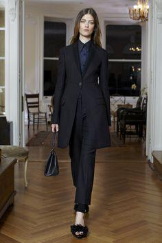 The Row FW:13 - tuxedo lapels and shaped waist - elegant